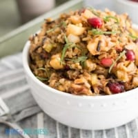Wild Rice Stuffing is the perfect side dish.