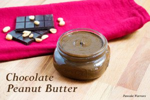 Chocolate Peanut Butter in a mason jar