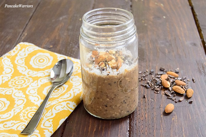 Almond Joy Overnight Oats | www.PancakeWarriors.com