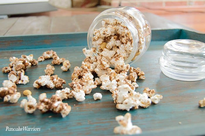 Chocolate Popcorn | www.PancakeWarriors.com