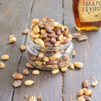 maple candied mix nuts