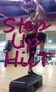 Step Up Hiit Workout - Cardio Fat Blasting
