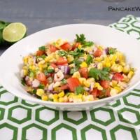 simple corn homemade salsa