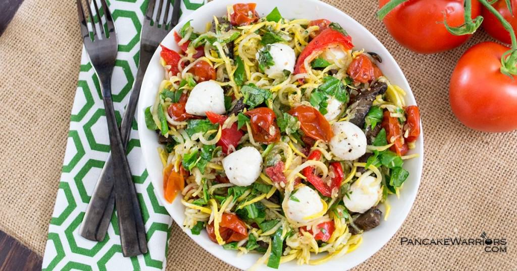 Margherita Pasta Salad is gluten free
