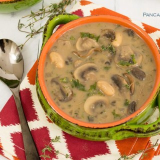 White Bean Mushroom Soup is gluten free