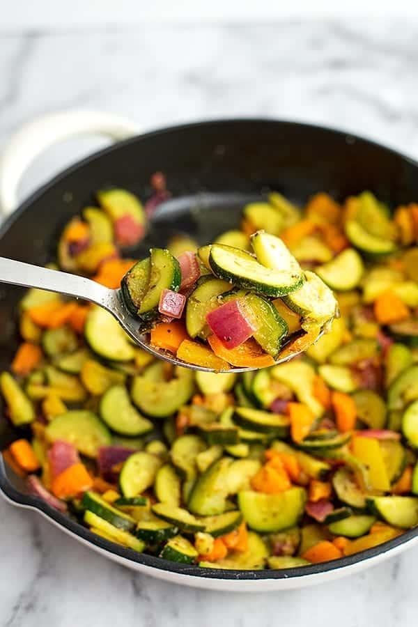 Greek Vegetables packed with veggies
