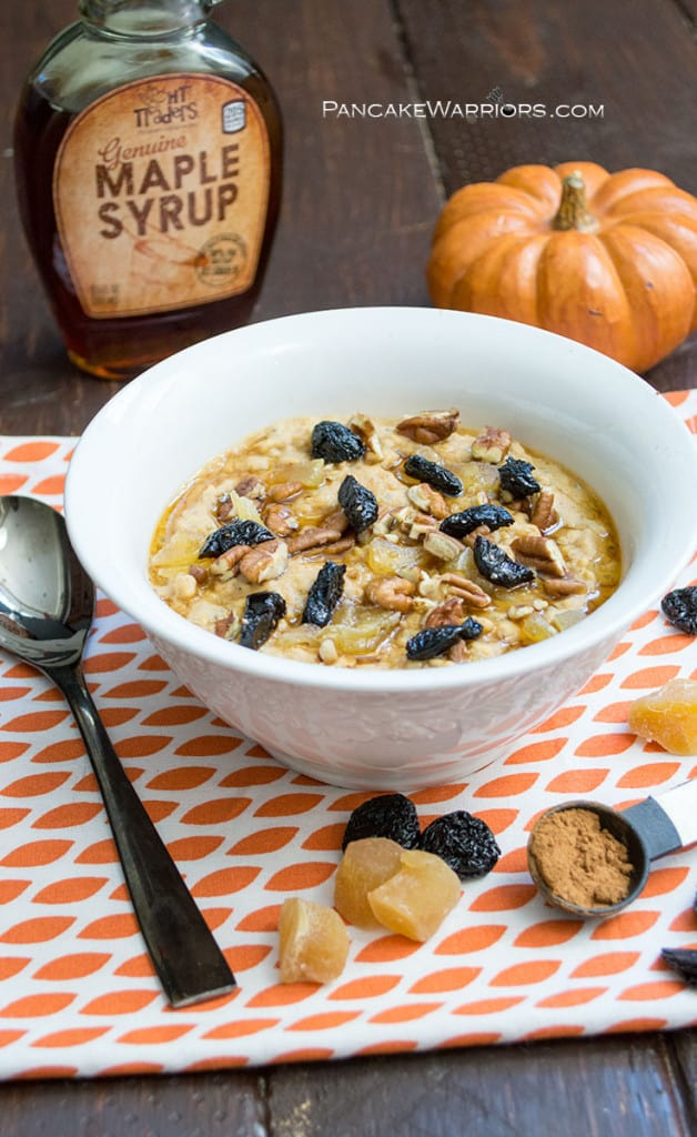 protein pumpkin oatmeal is packed with nutrition