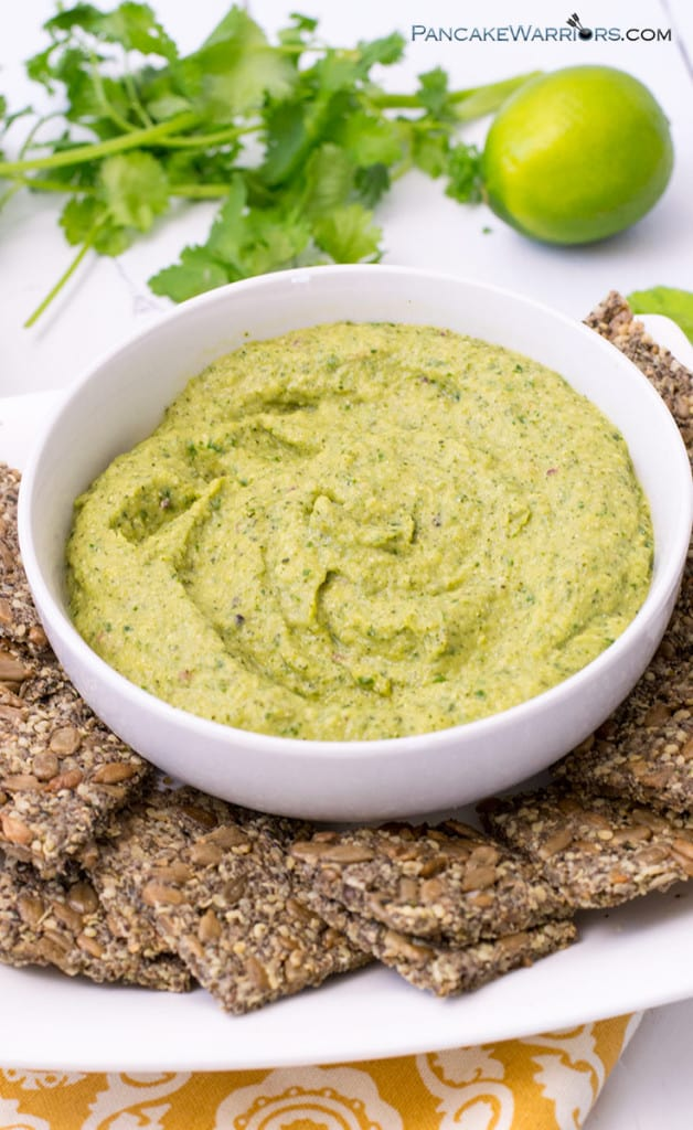 paleo avocado zucchini hummus is also vega