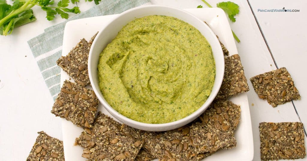 paleo avocado zucchini hummus is also whole30