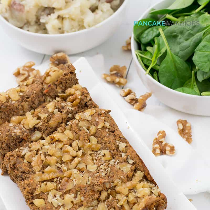 Vegan Walnut Lentil Loaf (Gluten Free) | Bites of Wellness