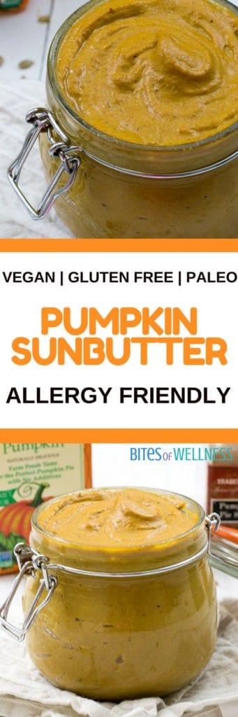 Pumpkin Sunflower Seed Butter - #vegan, #glutenfree, #paleo, and so #easy to make!