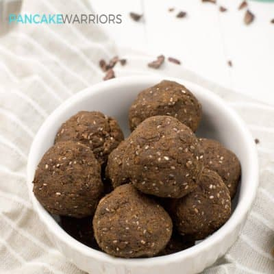 Hemp Protein Brownie Bites