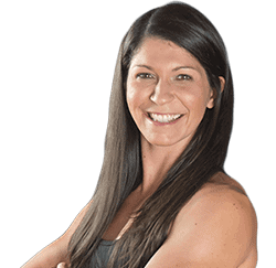 Samantha Rowland is a personal trainer and group fitness instructor.