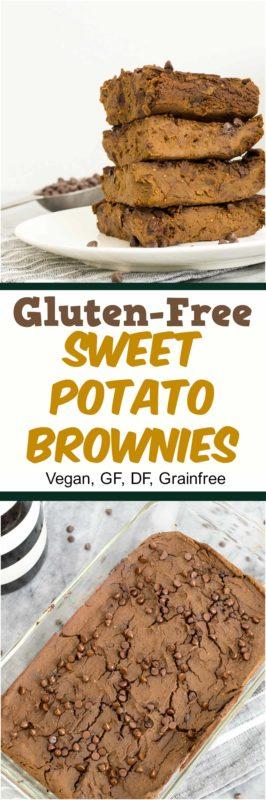Simple, healthy and intensely chocolatey, these are the world's best gluten free Sweet Potato Brownies! Gluten free, grain free, vegan and paleo-ish dessert recipe!   bitesofwellness.com