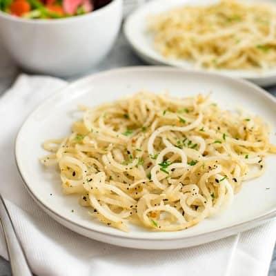 Low Carb Pasta (3 Ingredients)