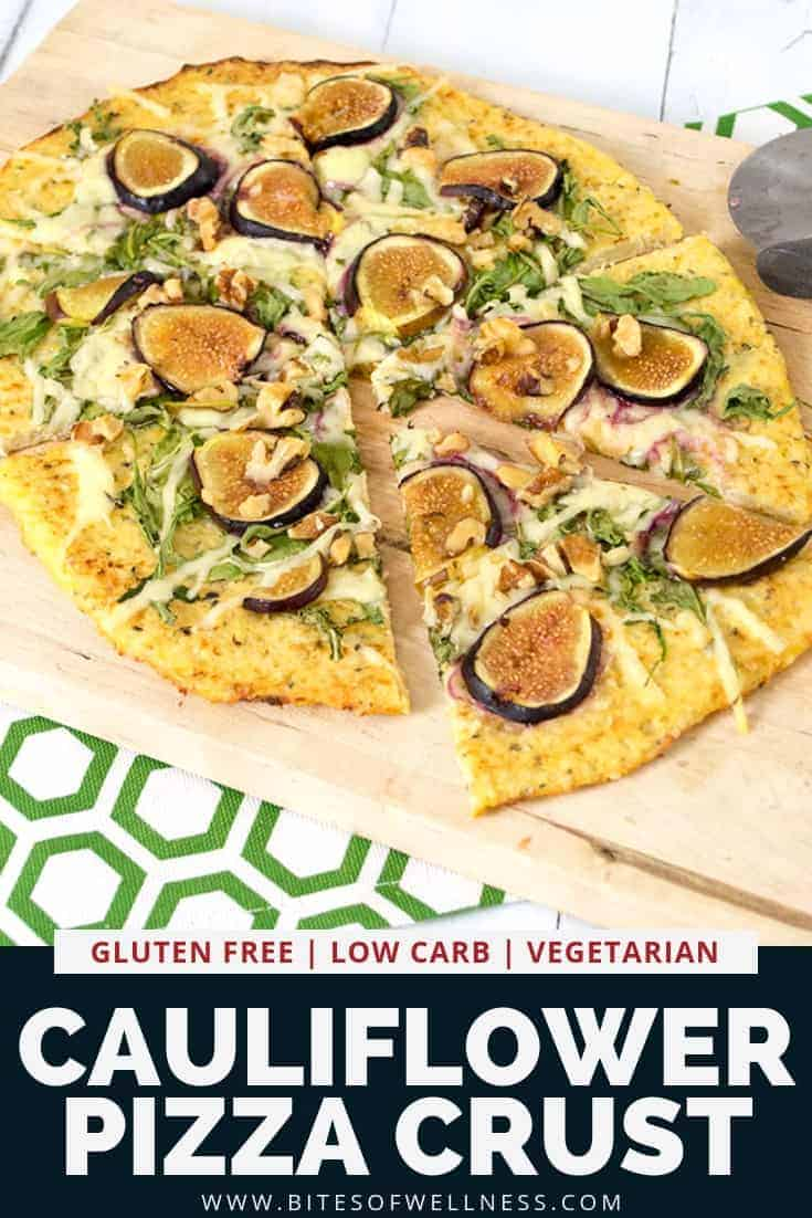 Cauliflower crust pizza is the perfect low carb pizza crust! Gluten free, grain free, paleo friendly and easy to make, this cauliflower pizza crust is going to become your new favorite pizza crust recipe!