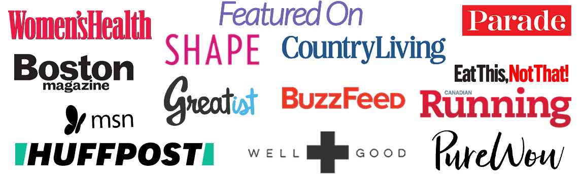 Bites of Wellness has been featured on huffington post, well and good, and women's health