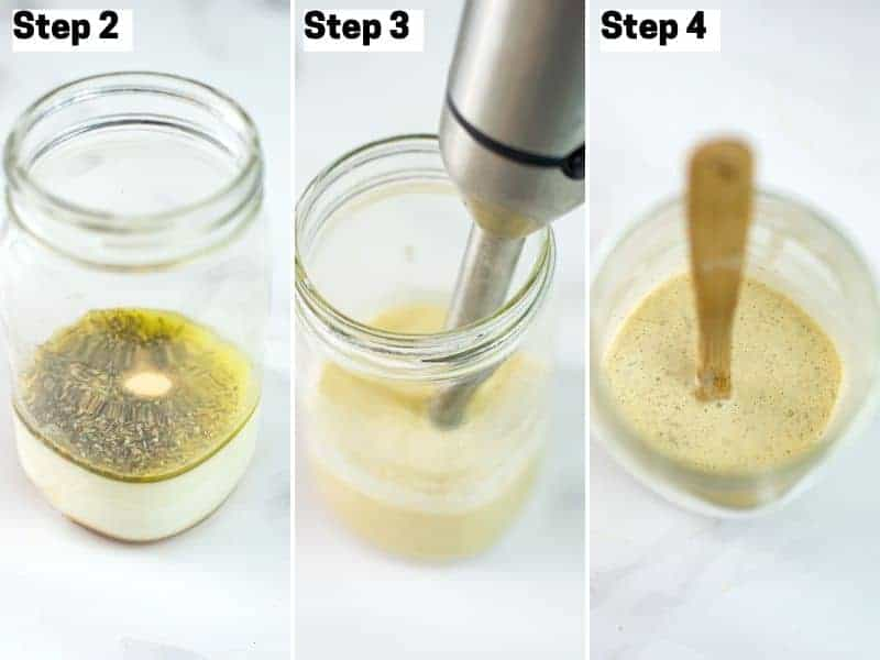 How to make creamy vegan coleslaw dressing