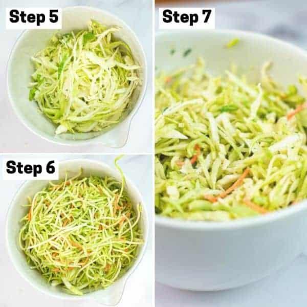 How to make vegan coleslaw