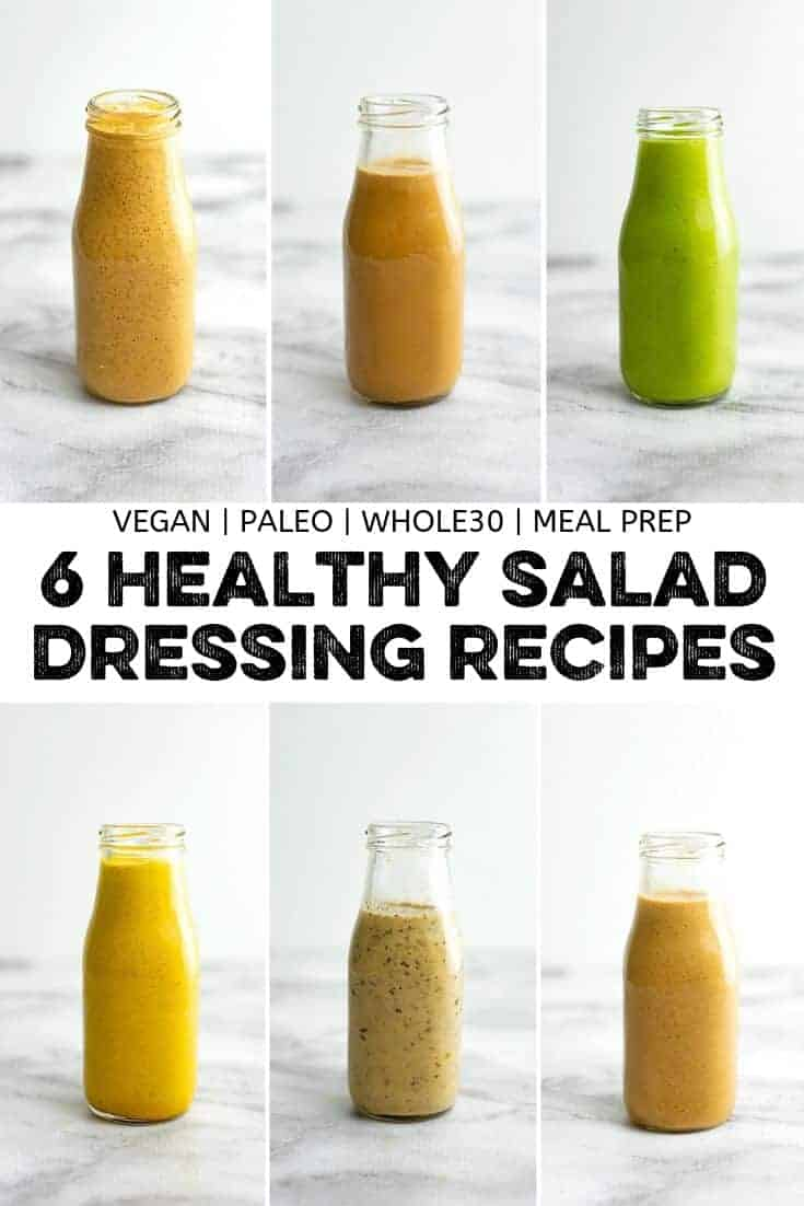 6 Healthy Salad Dressing Recipes To Make At Home Bites Of