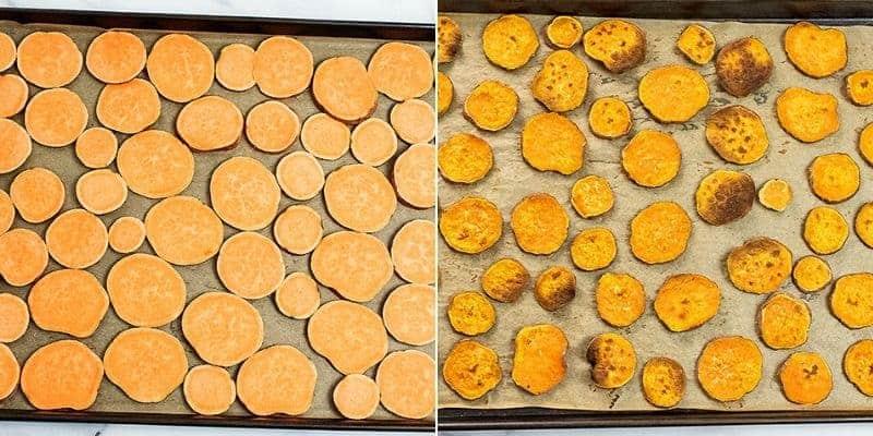 How to make sweet potato nachos.