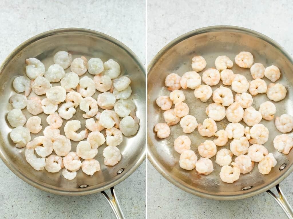 How to cook shrimp.